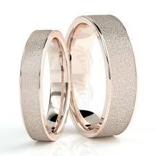weddings 10k 10k gold sandstone couples wedding rings 4mm 6mm