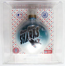 san jose sharks nhl fan ornaments ebay