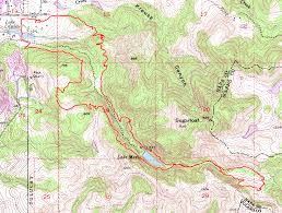 Skyline Drive Map Skyline Wilderness Suggestion 2 Bay Area Mountain Bike Rides