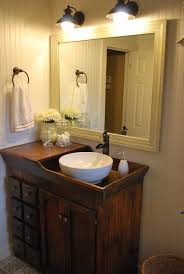 cabin style bathrooms home design