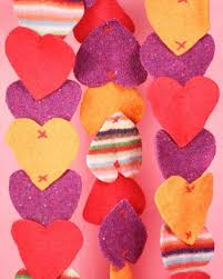 Fabric Heart Decorations Valentines Day Ideas For Decorating Ceiling Pendant Lights Or