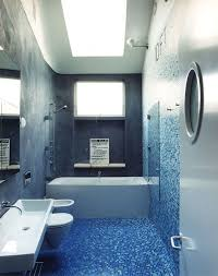 terrific houzz bathroom paint colors using light blue mosaic tiles