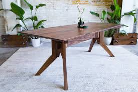 modern dining table dining table walnut dining table