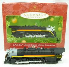 buy hallmark qx6092 lionel 6 2101 chessie steam special