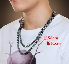 long necklace men images Silver chain men chain long necklace men 39 s 925 sterling silver jpg
