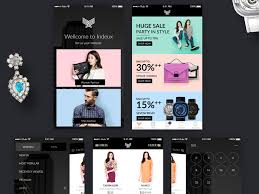ecommerce ui kit web template shopping cart free resources for