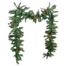 non lit wreath non lit garland montana
