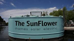 solar powered boat solar powered widebeam off grid house boat