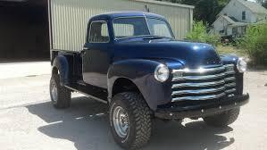 Classic Chevrolet 4x4 Trucks - pic 1950 chevy 4x4 i owne this setup i will build it soon