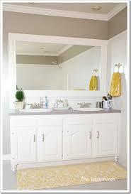builder grade updating builder grade bathroom cabinets the idea room