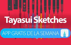 tayasui sketches app gratis de la semana en itunes