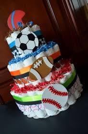 las 25 mejores ideas sobre sports diaper cakes en pinterest