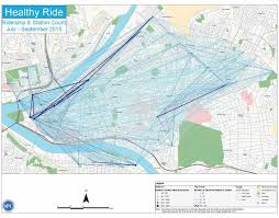 University Of Pittsburgh Map Cmu Student Creates Cool Maps Of Pittsburgh Bike Share Stats Blogh