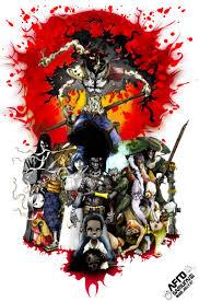 afro samurai afro samurai by hdk on deviantart