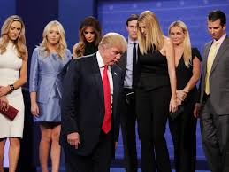 donald trump family a quarter of donald trump s transition team are members of his