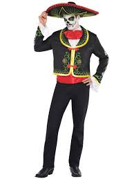 Couples Jester Halloween Costumes Mens Ladies Dead Mexican Halloween Fancy Dress Costumes