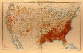 Race Map Of America by 1890 Population Distribution History U S Census Bureau
