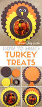 fun thanksgiving treats how to make paper turkey treats the crafty blog stalker
