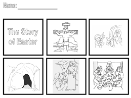 the easter story sequence the story by saintannes teaching