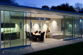 external glass sliding doors fineline love the overhanging finish and sliding doors wonen
