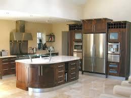 Walnut Kitchen Designs Unique Kitchens Modern Framed Walnut Kitchen Design Kitchen