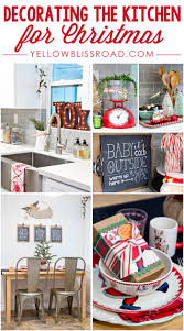 christmas kitchen decor archives yellow bliss road