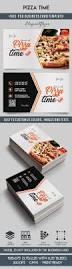 pizza time u2013 free business card templates psd u2013 by elegantflyer