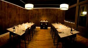 private dining room design of amada restaurant philadelphia