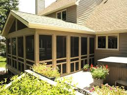 adding an enclosed front porch deck block for enclosed front