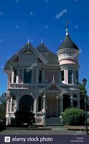 victorian queen anne queen anne style victorian home with turret and gingerbread eureka
