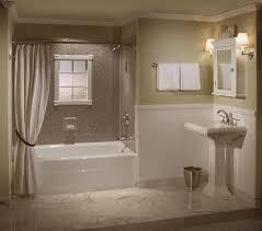 Bathroom Styles Ideas by Bathroom Design Ideas Bathroom Square Corner Cherry Wood