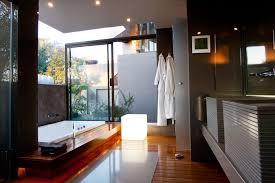 wooden laminate flooring floor lamp dark grey wall paint