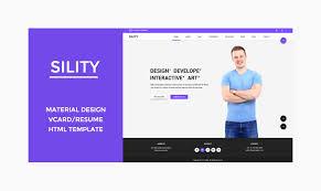Free Resume Html Template Top 20 Premium Quality Resume U0026 Cv Html Templates 2016 Designstub