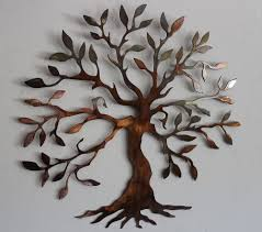 olive tree tree of life metal wall art decor metal wall art