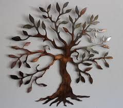 olive tree tree of metal wall decor metal wall