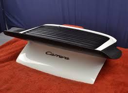 porsche whale tail porsche 911 carrera whale tail rear spoiler 91151290900 deck lid