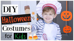 diy halloween costumes for kids easy cheap last minute youtube
