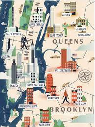 Maps Good Brooklyn The Good Life Maps Pinterest City Illustrated