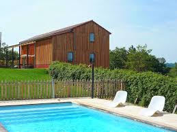 holiday house with pool in dordogne limousin in florimont gaumier