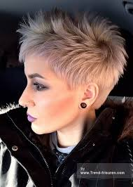 Kurzhaarfrisuren 2017 Blond Damen by Best 25 Freche Kurzhaarfrisuren Ideas On Freche