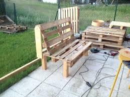 Pallet Garden Furniture 2 Person Comfy Pallet Garden Seatmetalwork Furniture Workbench