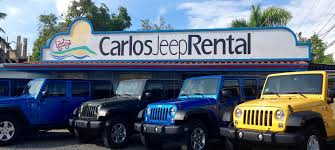 jeeps home carlos jeep rental