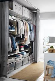 Organize The Wardrobe You Have While Making Space For Another - Bedroom storage ideas for clothing