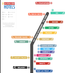 Caesars Palace Las Vegas Map by Las Vegas Strip Map La Epic Club Crawls Las Vegas