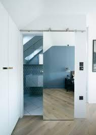 bathroom doors ideas mirror framed sliding barn door by rustic luxe sliding barn doors