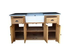 meuble d evier cuisine meuble sous evier bois massif 1 grand meuble evier de cuisine