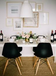White Dining Table With Black Chairs Exquisite White Table Black Chairs Best 25 Ideas Only At