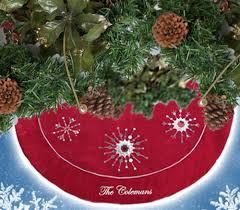 personalised christmas tree skirts christmas tree skirts tree