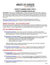simple event planning template forms fillable u0026 printable
