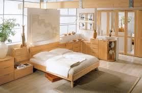 Single Wood Bed Frame Idyllic Home Bedroom Light Wood Furniture Design Ideas Featuring